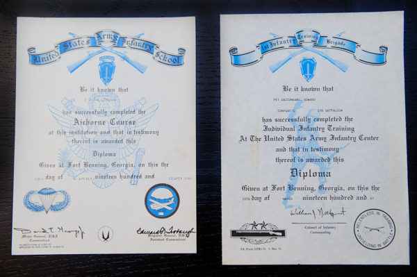 Army Diplomas
