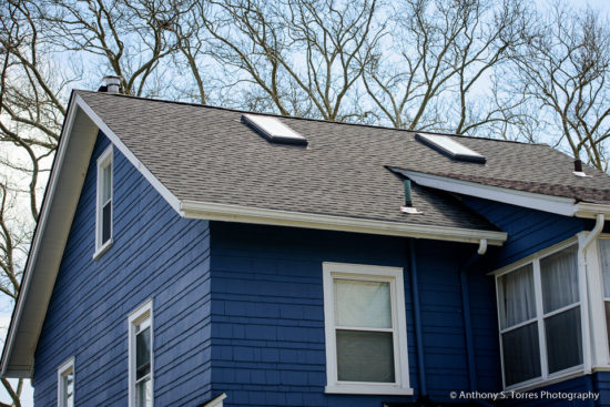 New Roof and Skylight Installation : Ashland Ave, Glen Ridge NJ - Roof and Skylights