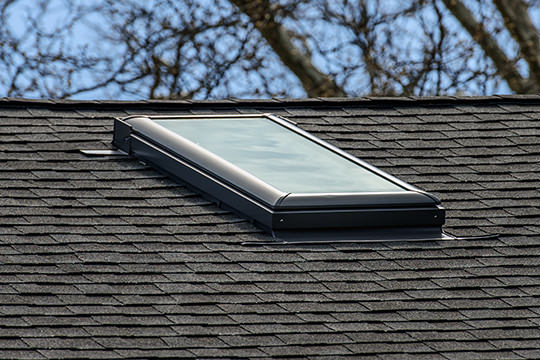 Roofing, Shingles, Skylight Installation